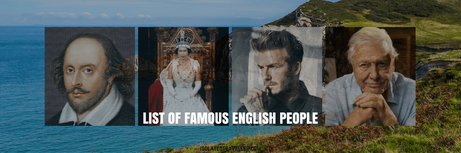 List of Famous English People