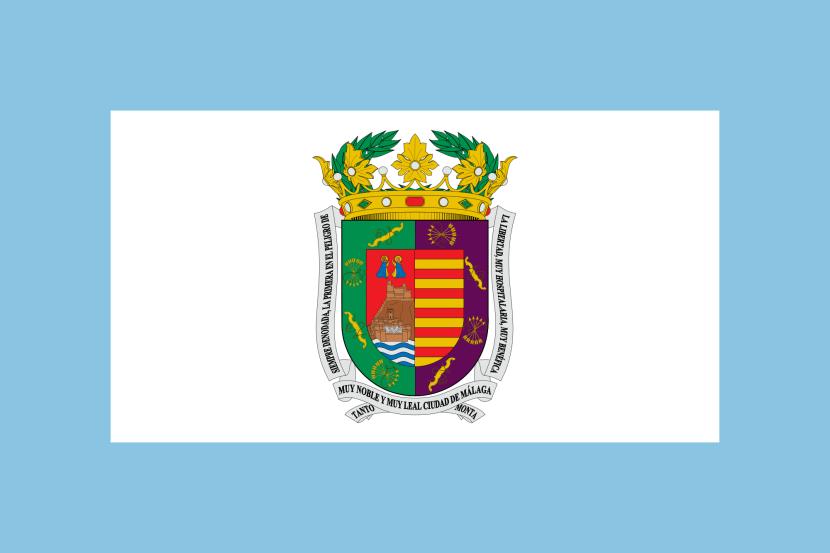 Flag of Province of Malaga