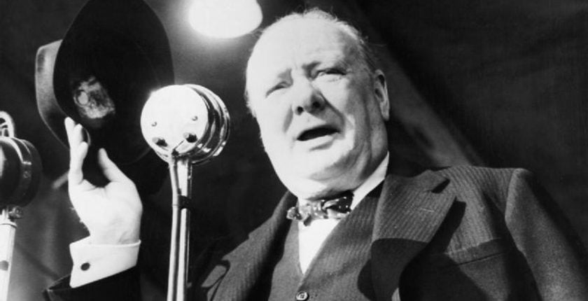 United Kingdom Timeline Winston Churchill speech