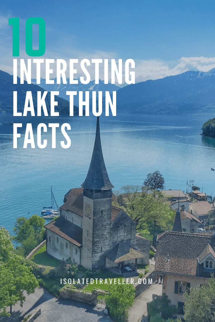 10 Interesting Lake Thun Facts 1