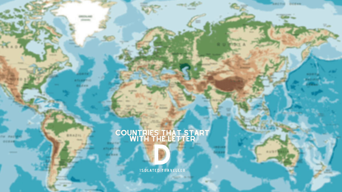 Countries That Start With The Letter D