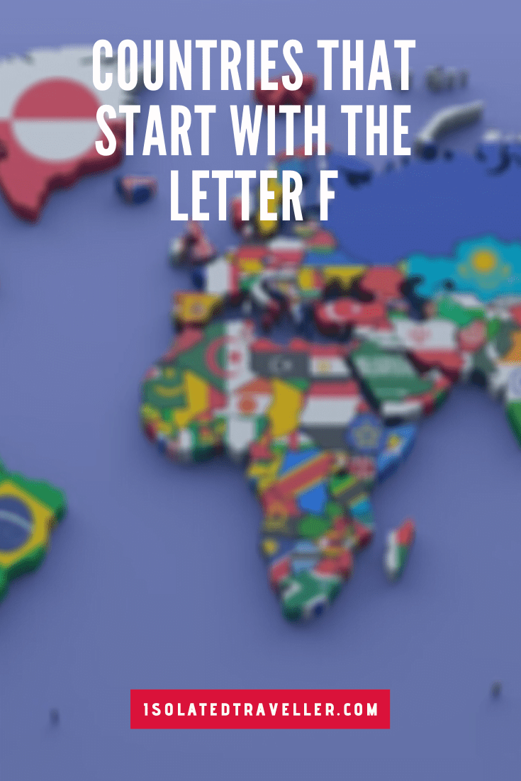 Countries That Start With The Letter F