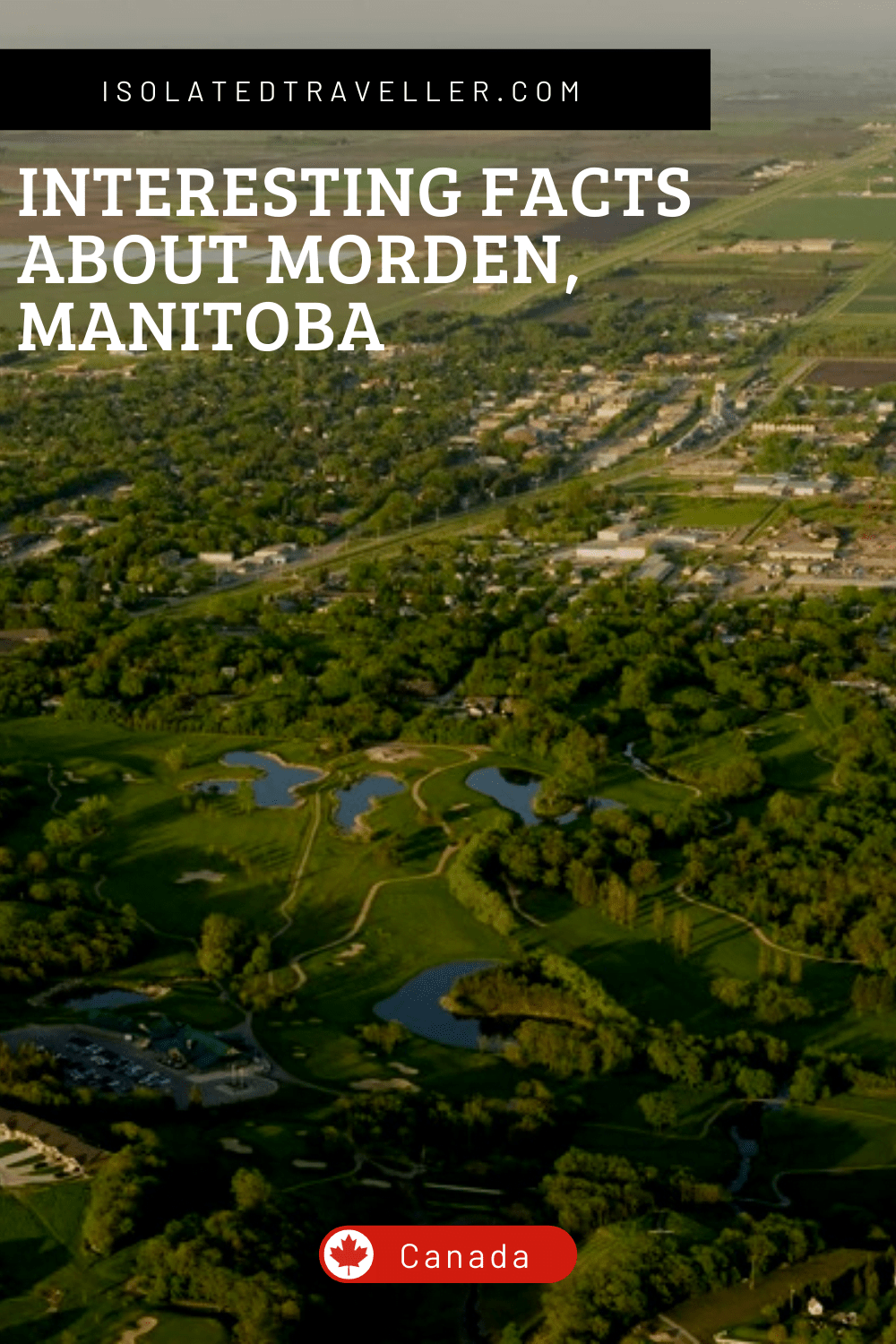 Facts About Morden Manitoba