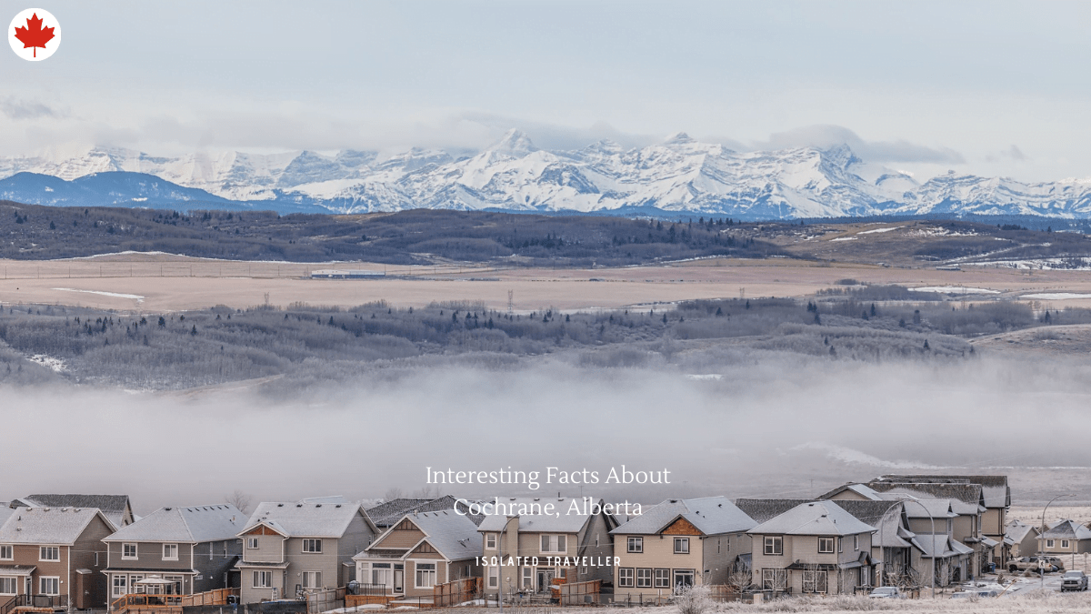 Facts About Cochrane, Alberta