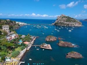 Ischia la baia di Cartaromana