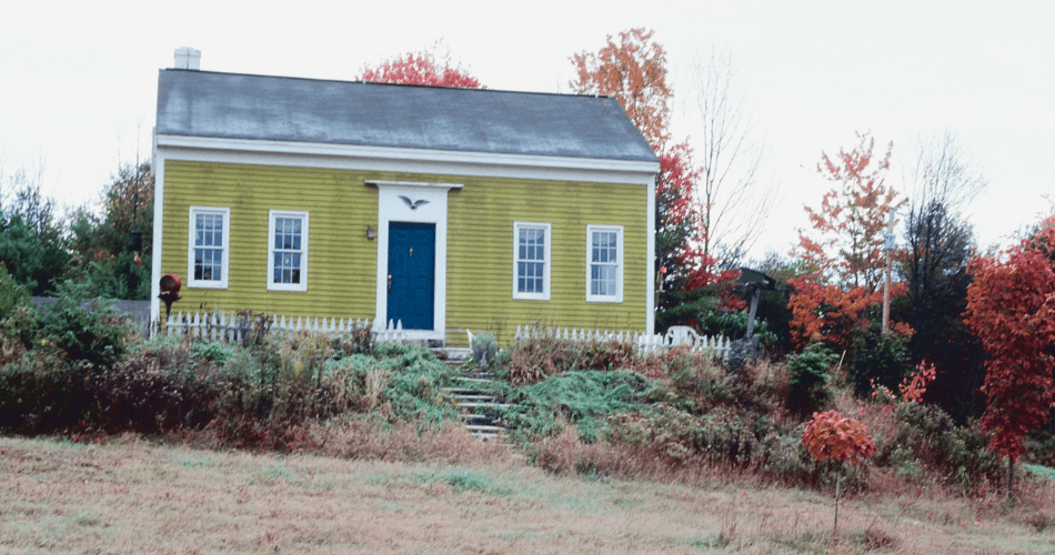 picture of the exterior of a house that looks inexpensive