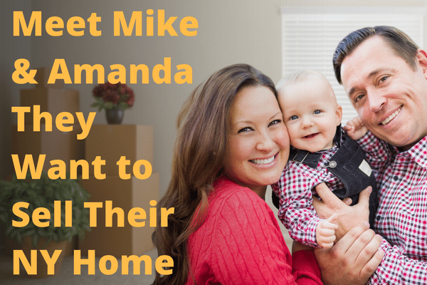 picture of mike and amanda - NY Home Sellers
