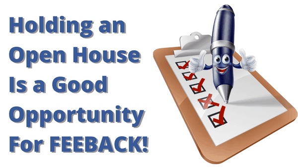 picture of open house feedback