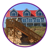 picture of an beach house icon