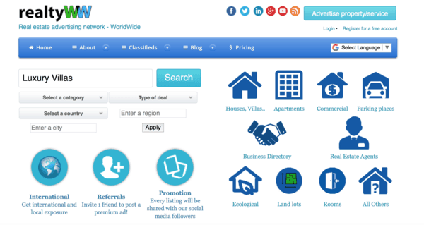 picture of realtyww.info homepage