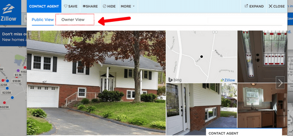 picture of zillow listing