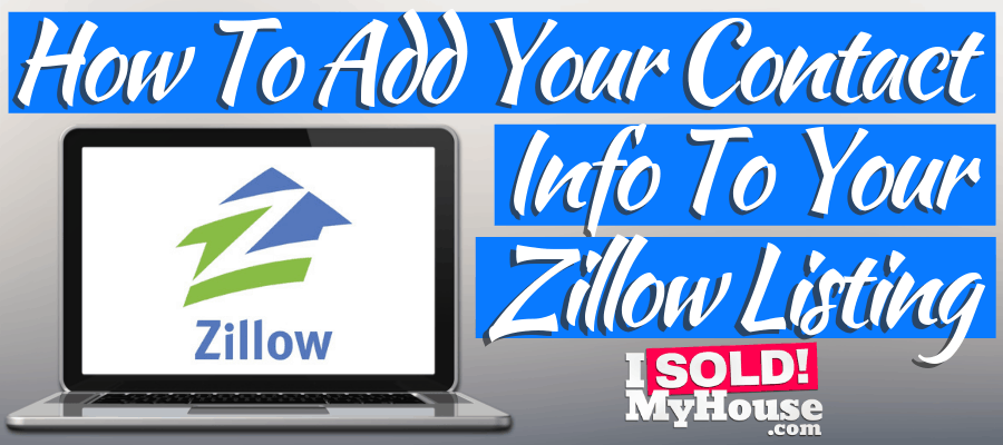 featured image for adding seller contact information to zillow article