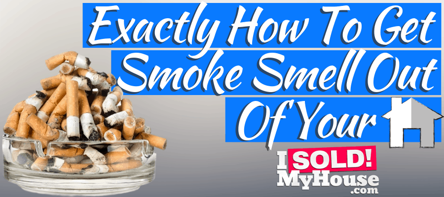 featured image for how to get smoke smell out of house article