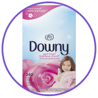 picture of downy dryer sheets