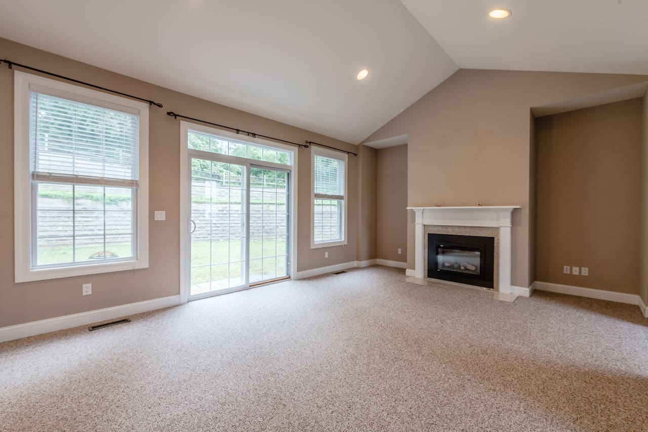 picture of unfurnished living room