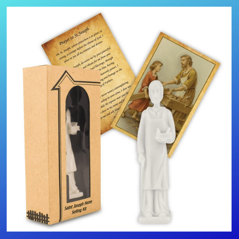 picture of CTA Home Seller Kit,St Joseph Statue Authentic Home Selling Kit