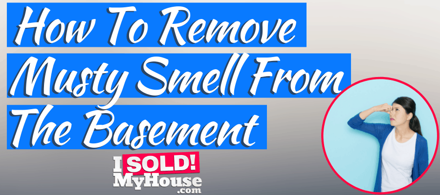 featured image for how to remove musty smell from basement article