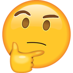 picture of thinking emoji