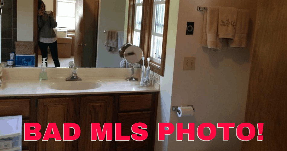 example of a bad mls photo