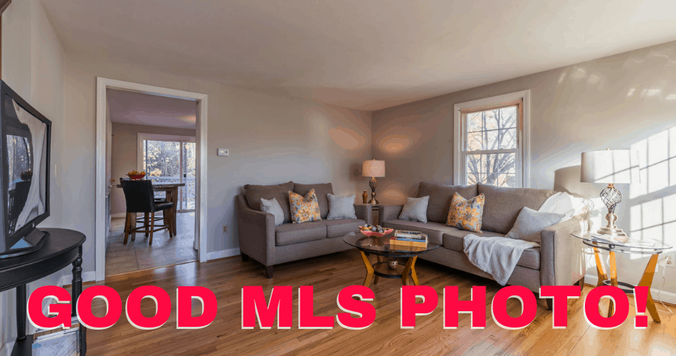 example of a good MLS photo
