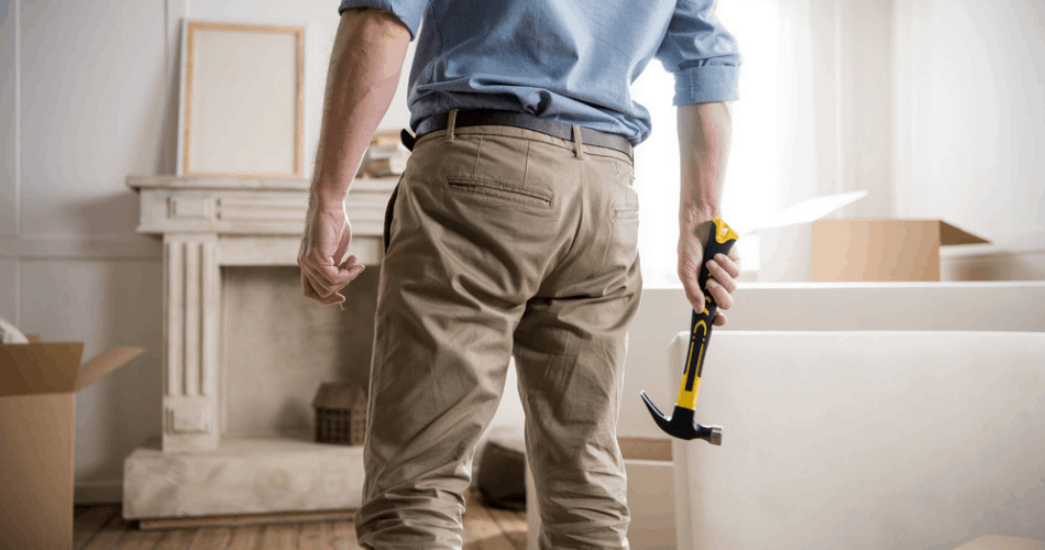picture of a contractor making home improvements