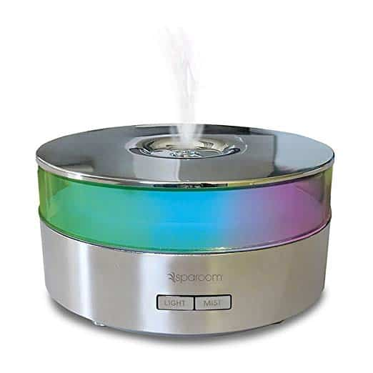picture of SpaRoom AromaMist Ultrasonic Essential Oil Diffuser and Aromatherapy Mister