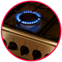 picture of a stove burner