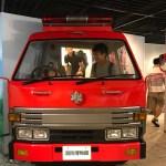 消防署博物館は、午前中早めが空いてるし、朝から活動できる!
