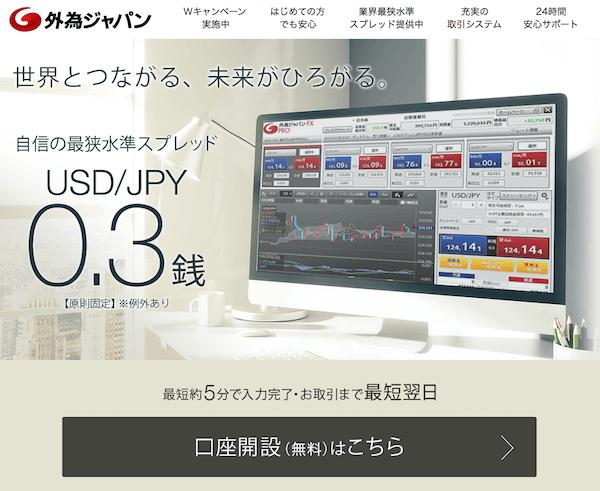 外為ジャパンは本当に使い易いFX会社