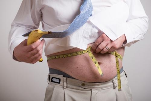 肥満のひとはいびきをかきやすい