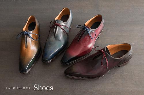 YUHAKU(ユハク)のマッケイ製法革靴