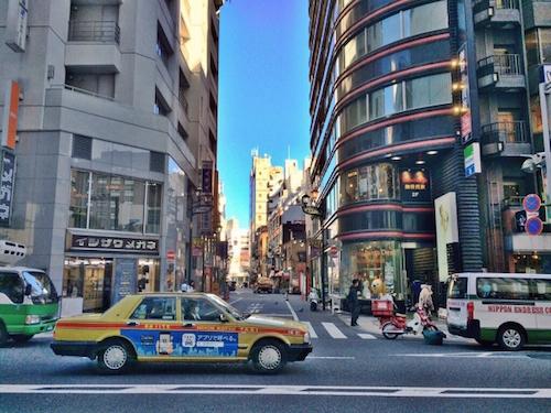 タクシー仕事内容