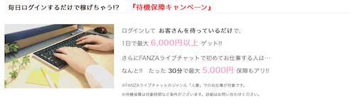 FANZA(ファンザ)には待機保証キャンペーンがある!