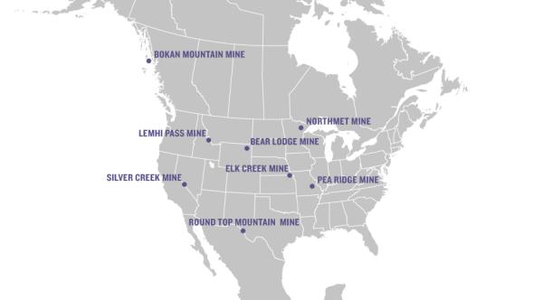 Mines map