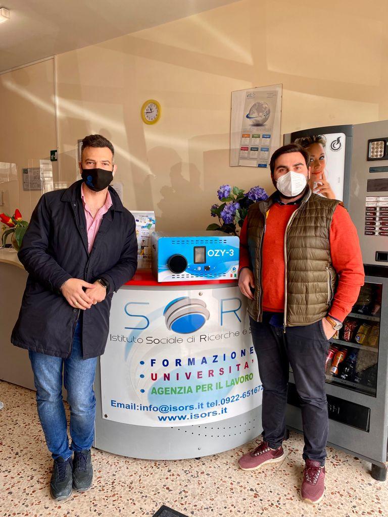 ISORS aderisce alla sanificazione quotidiana con Ozono