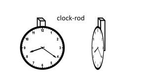 clock-rod