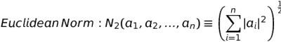 Euclidean norm