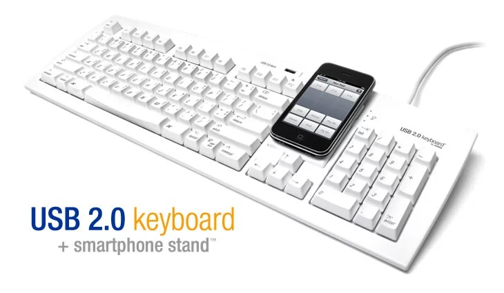 Nuova Tastiera Matias con supporto nativo per iPhone ed