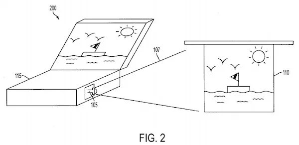 Apple brevetta un nuovo sistema di proiezione laser per i