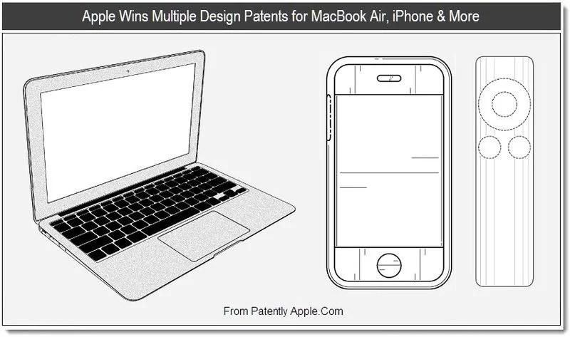 Apple ottiene i brevetti per il design del MacBook Air