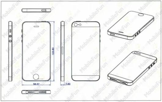Rumors l Dei disegni confermano che il prossimo iPhone 5