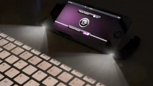 iphone 5 proiettore