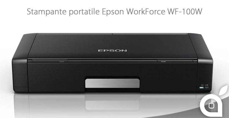 iSpazio-MR-stampante portatile Epson WorkForce WF-100W