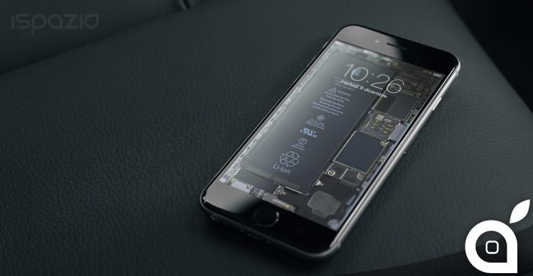 Ifixit Iphone Se Wallpaper Scarica Gli Sfondi A Quot Raggi X Quot Dei Componenti Interni Dell