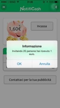 1 euro bonus