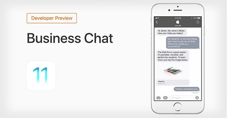 iOS 11 aprirà iMessage alle