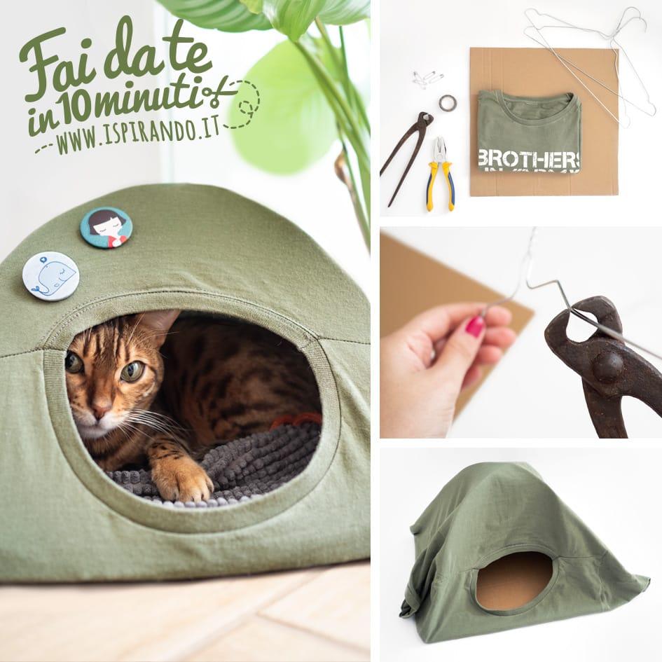 Cuccia Per Gatti Da Esterno Fai Da Te Costruirla Con