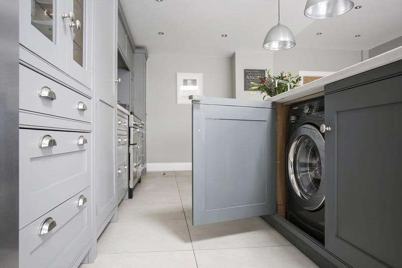 Come nascondere e posizionare la lavatrice con stile