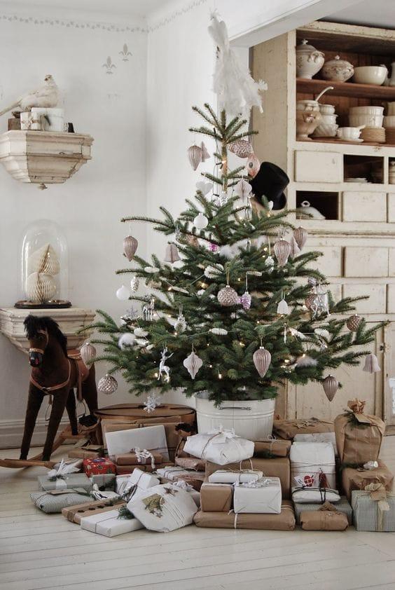 Natale shabby chic in case da sogno foto delle decorazioni. Natale Shabby Chic 20 Idee Da Cui Prendere Spunto Ispirando