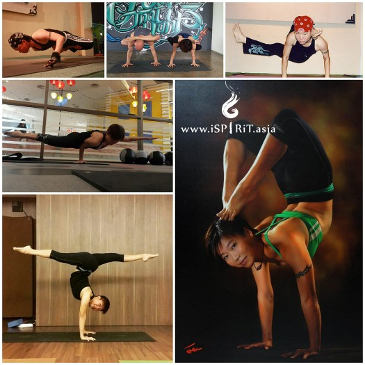 Inversions: 90-minutes Yoga Theme Class with Jenny Chia Collage